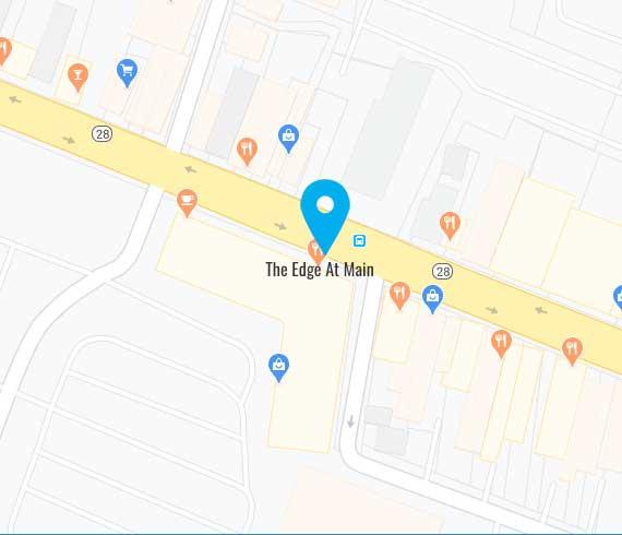 The Edge at Main Map